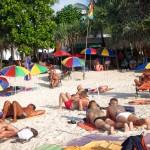 Boys at Patong Gay beach Phuket.
