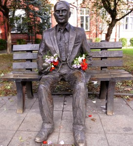 The amazing Alan Turing. His story is inspirational.
