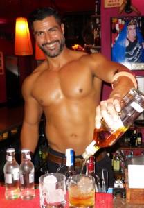Alex at Contaco Bar