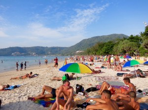 Phuket gay beach area.