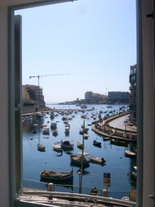 Stunning Spinola Bay can be seen through the picture windows at the front of the suites.