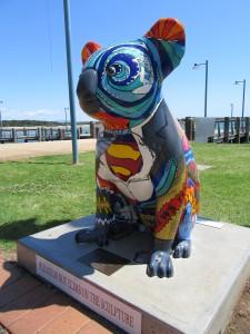 Hello Koalasculpture trail Port Macquarie