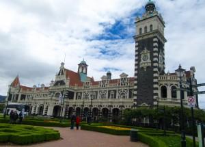 Dunedin's old railway station