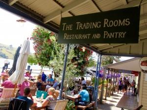 Trading Room Restaurant.