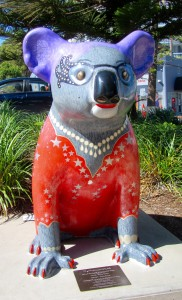 Hello Koalas Public Sculpture