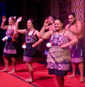 Māori cultural group.