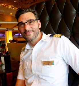 Hotel Director Mario Valentino