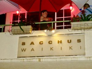 Bacchus Bar Honolulu