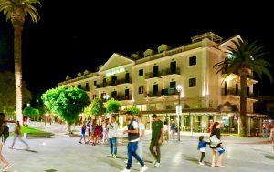 Ionian Plaza Hotel right on the central square in Argostoli.