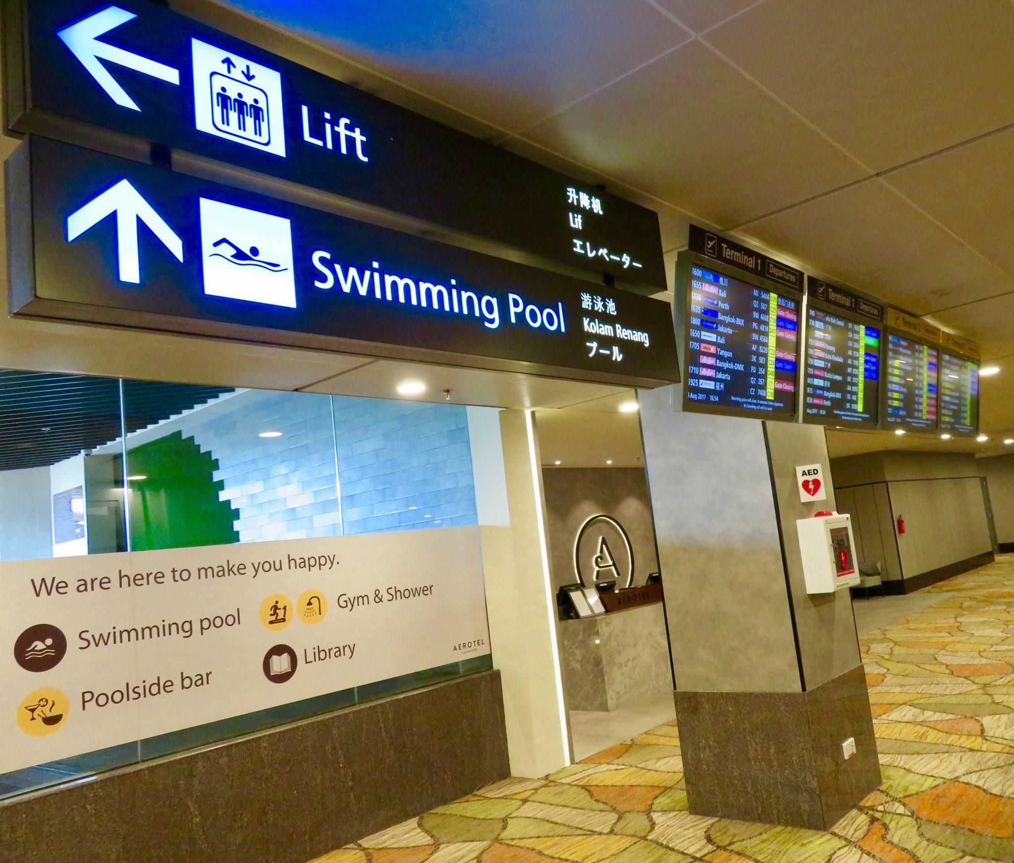 Singapore airport hookup