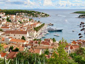 The Croatian island of Hvar