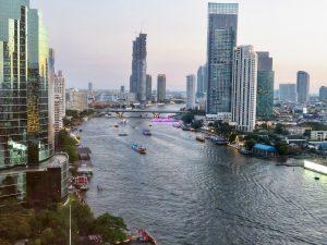 Bangkok, Chao Phraya River, Sheraton Hotel