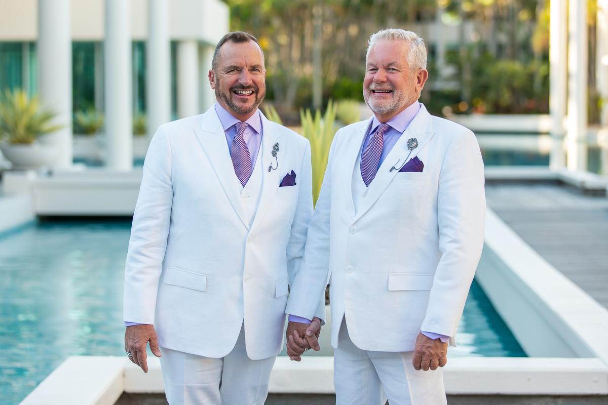THE MAKING OF AN AUSSIE GAY WEDDING 101 - GayMenOnHoliday com