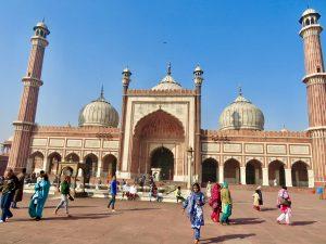 Jama Masjid Mosque in India.