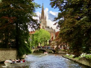 Bruges beautiful canals